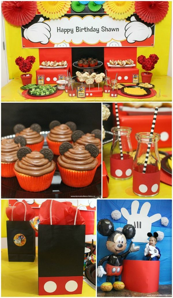 Mickey Mouse Party Ideas for Kids Mickey mouse clubhouse
