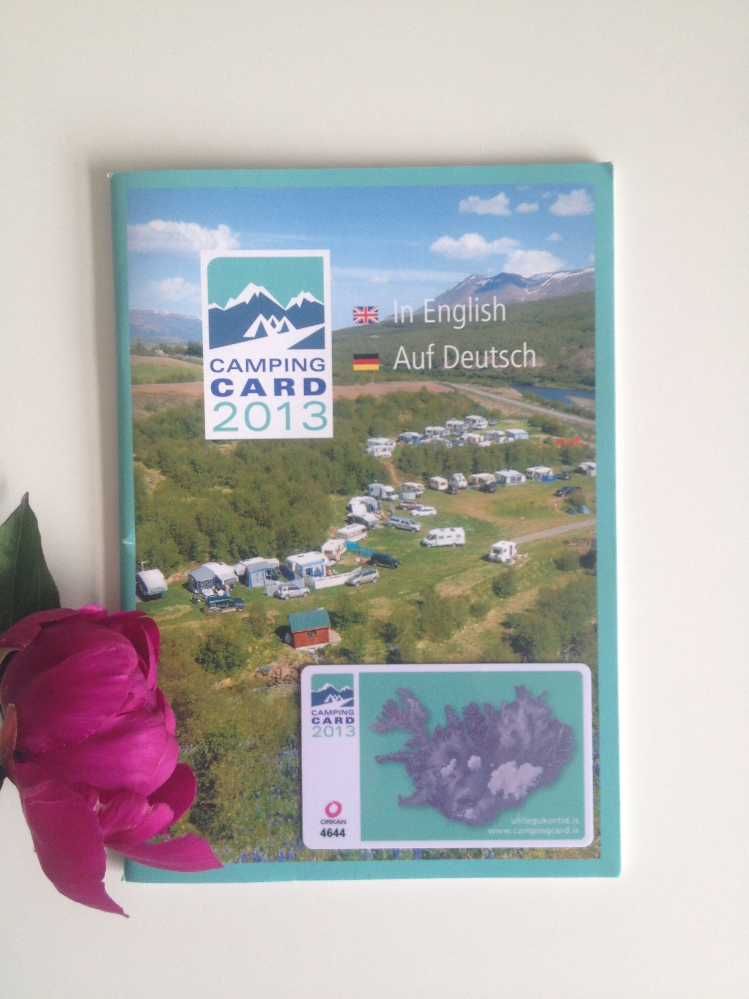 Remember to buy a camping card - a perfect travelling partner. You gain access to a range of ...