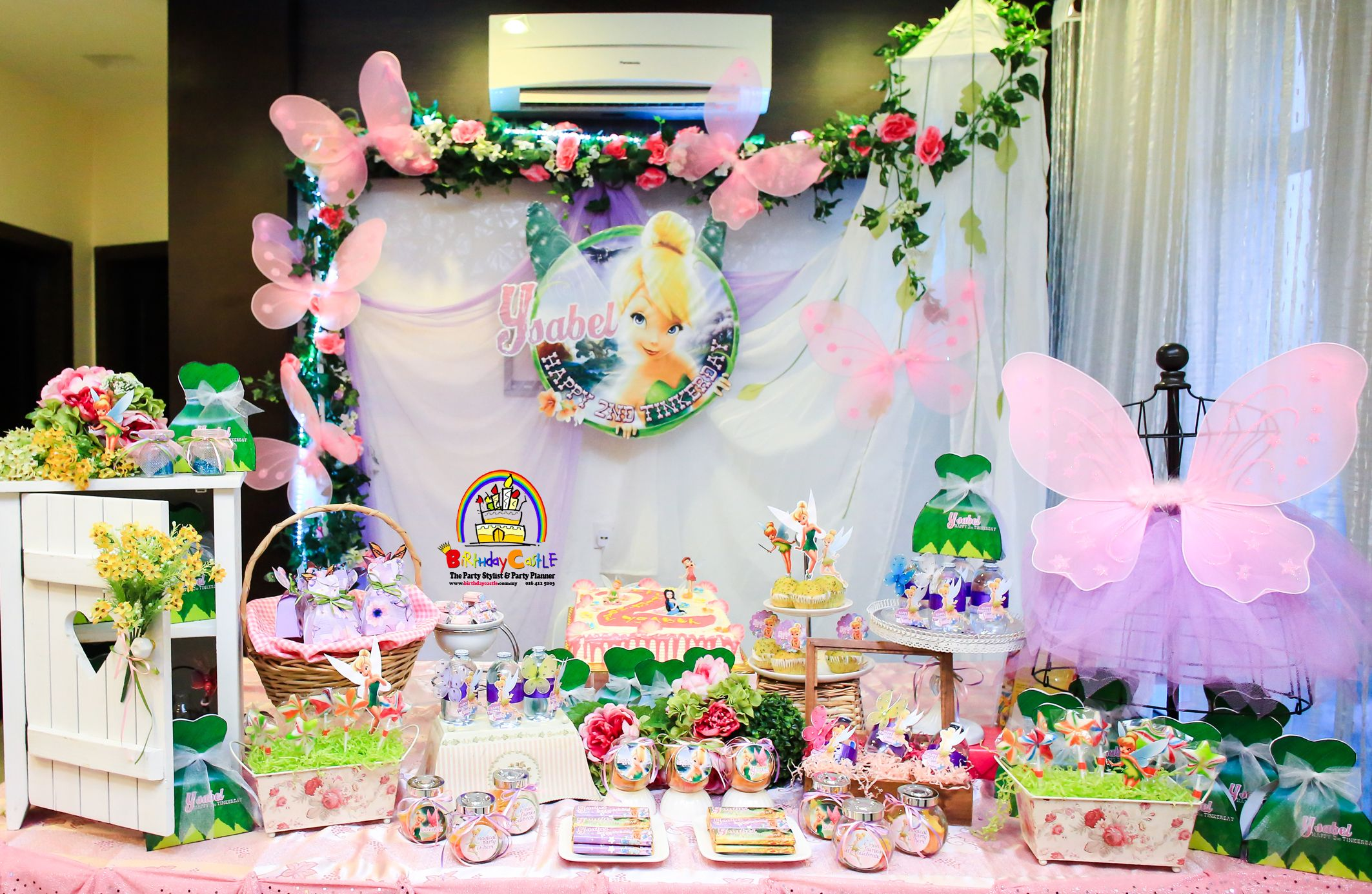 Tinkerbells Theme Party by Birthday Castle Entertainment Penang