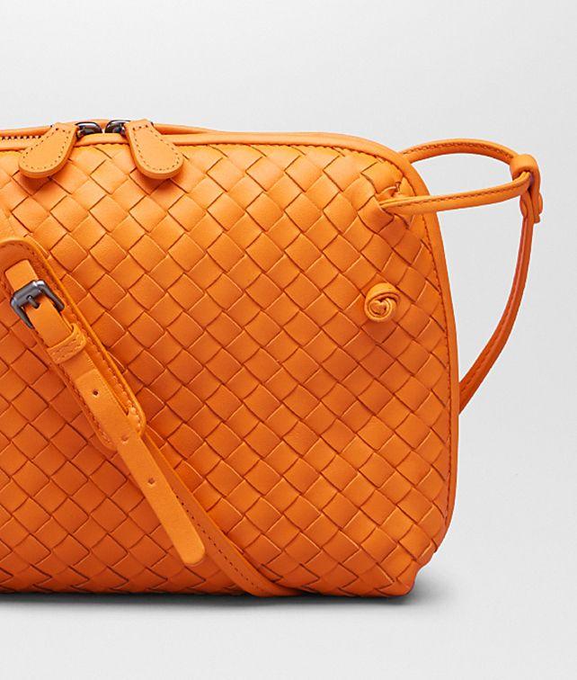 59f52678c9 Bottega Veneta Sun Intrecciato Nappa Messenger Bag
