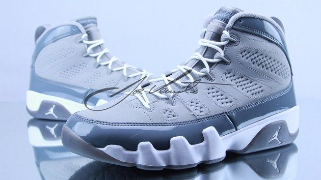 0d62b183c7d7 Air Jordan IX Cool Grey. My brother bought these shoes about a year ago.  Has yet to wear it and will kill me if I wear em lol