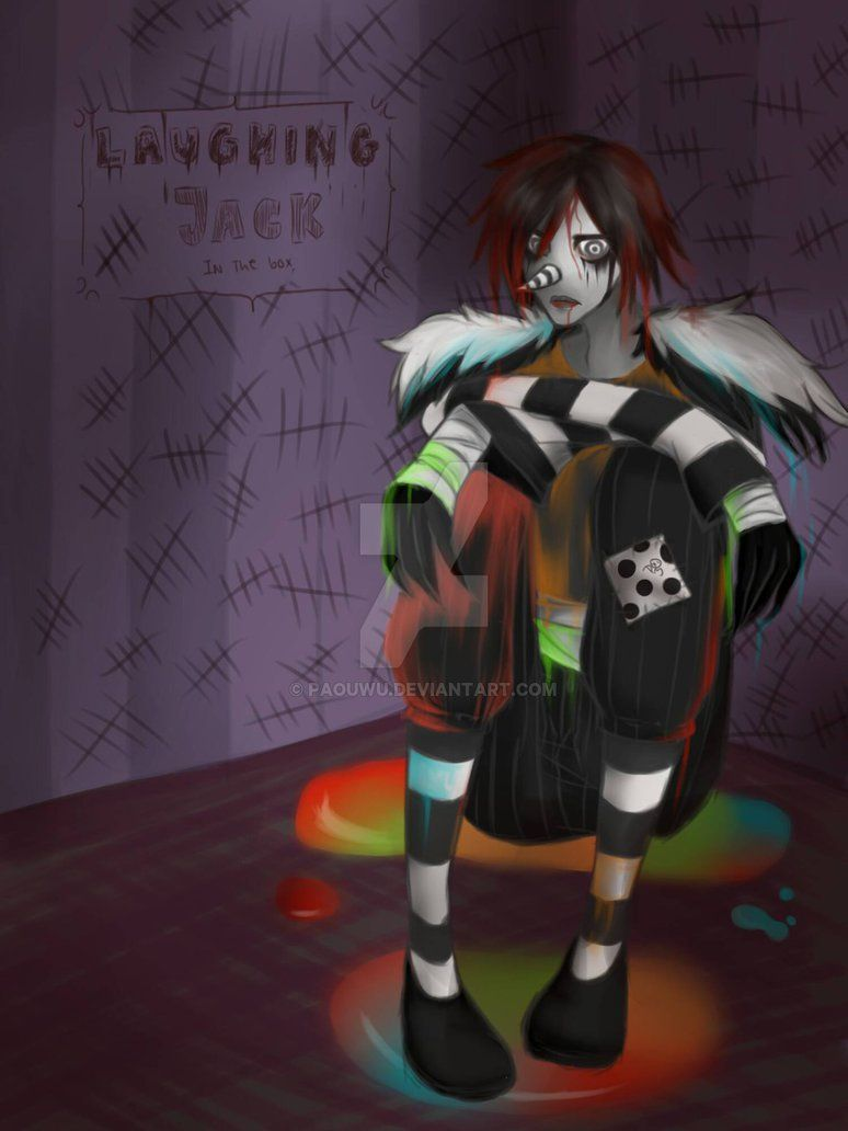 Laughing Jack In The Box : laughing, Laughing, Jack,, Creepypasta, Characters,