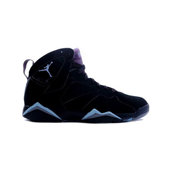 quality design de0b1 1d773 Air Jordan 7 (VII) Retro Chambray Black   Chambray – Light Graphite  ... ❤  liked on Polyvore