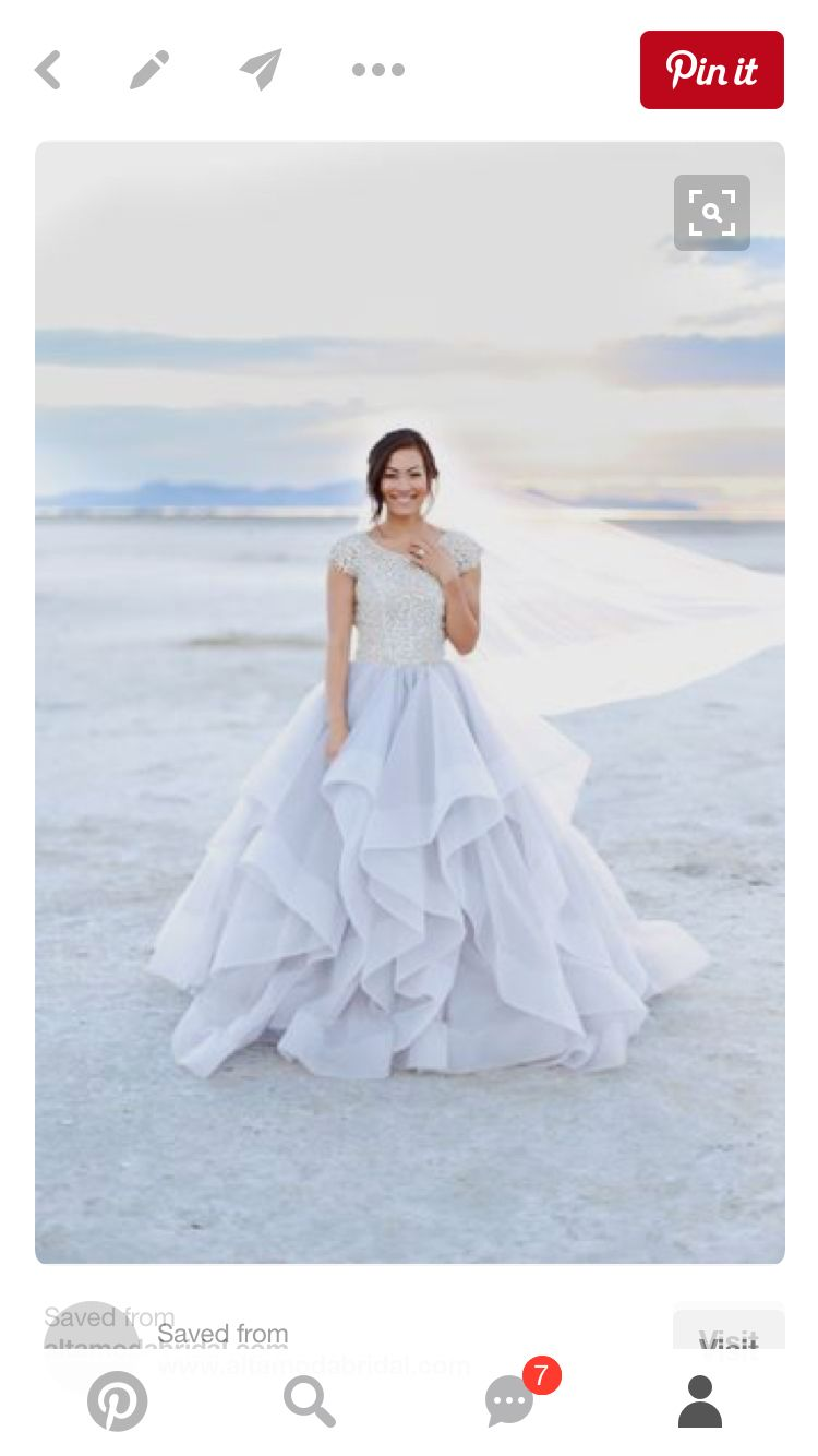 Modest Wedding Dresses : Mormon LDS Temple Marriage - Casanova ...