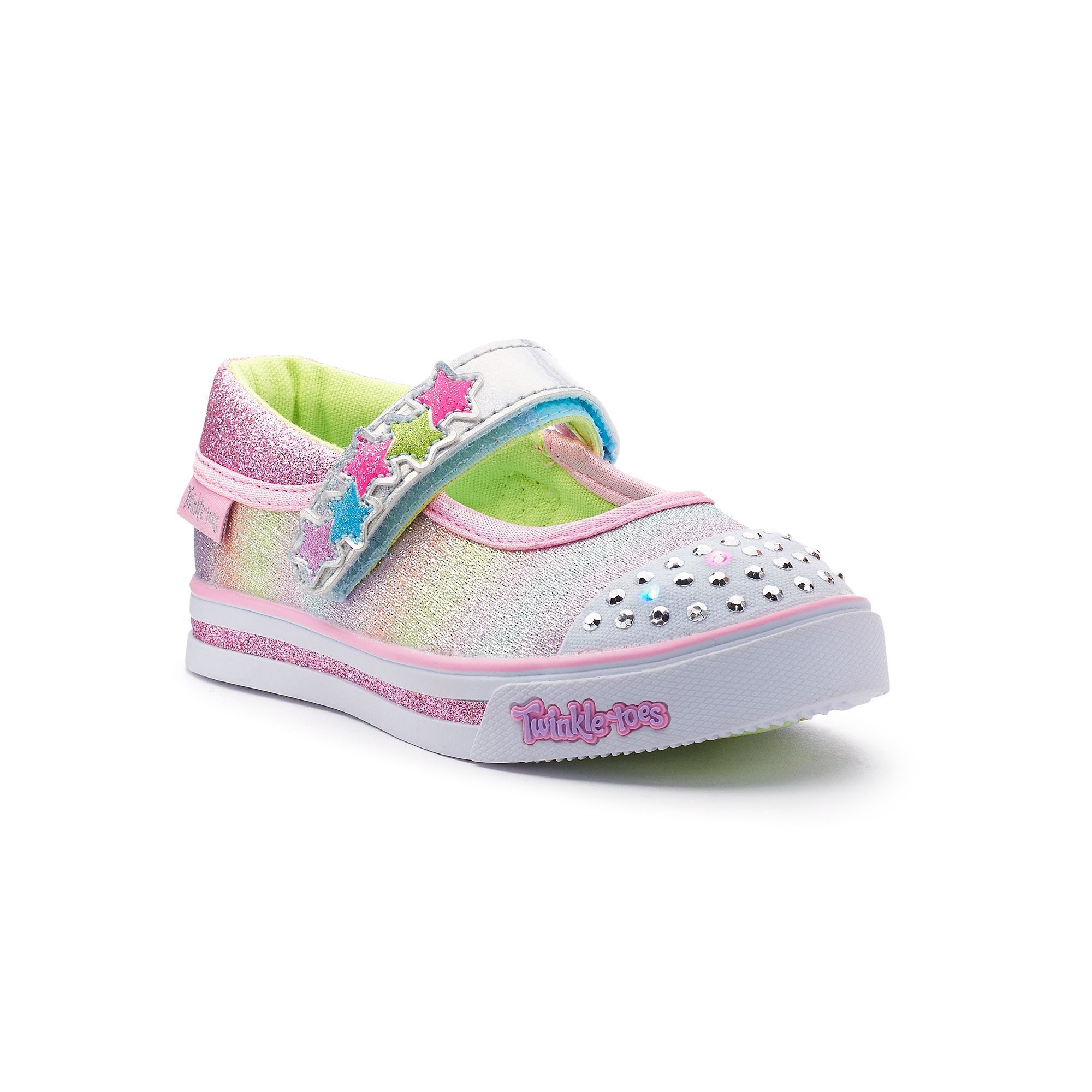 672955d92bee Skechers Twinkle Toes Sparkle Glitz Toddler Girls  Light-Up Shoes ...