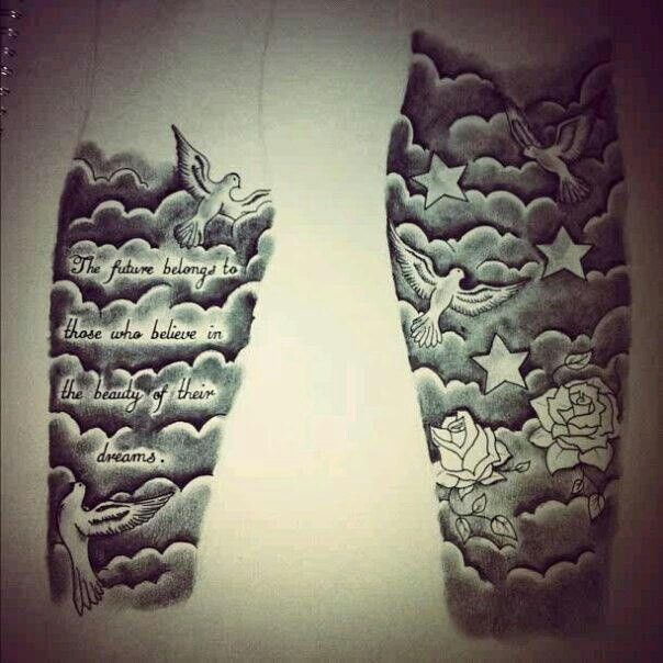 Resultado De Imagen Para Tattoo Nubes Tatto Pinterest Media