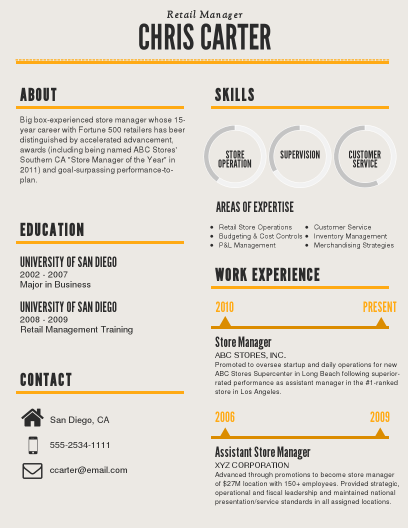 What Do Resumes Look Like Infographic Resume Template  Venngage  Resumes  Pinterest