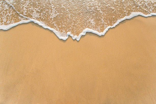 Wave On The Sand Beach Background Scream Pinterest