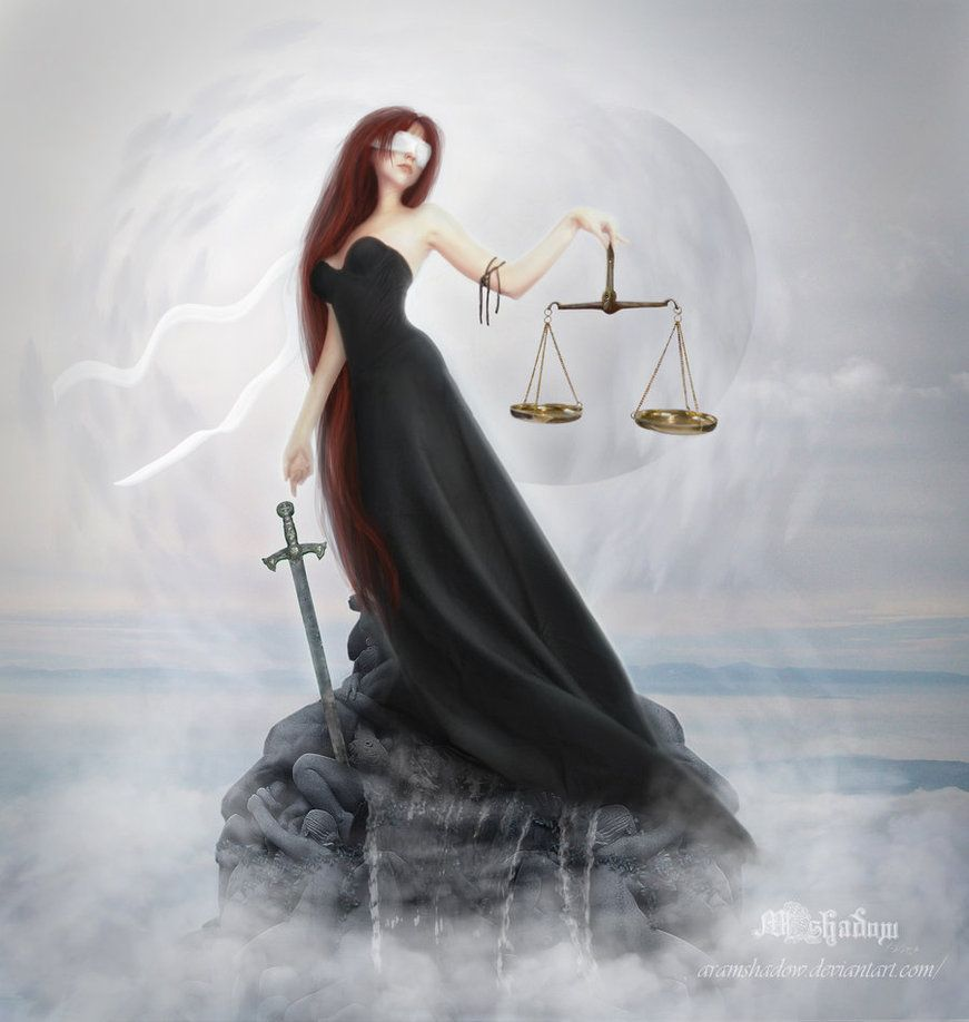 Justice By Aramshadow Deviantart Com On Deviantart Libra Art Lady Justice Goddess Of Justice