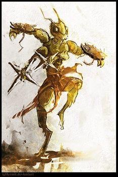 Dark Sun Thri Kreen Dd Dreaming Fantasy Fantasy Art Creature