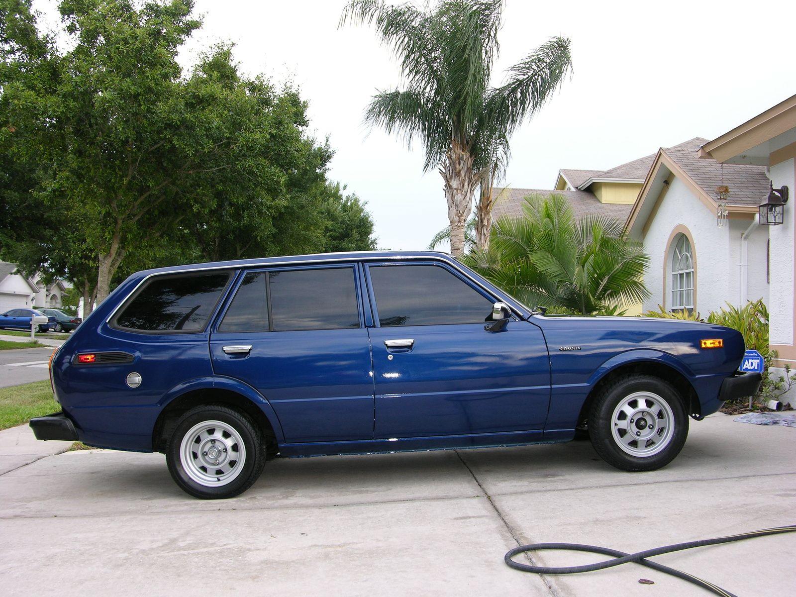 1979 toyota corolla wagon