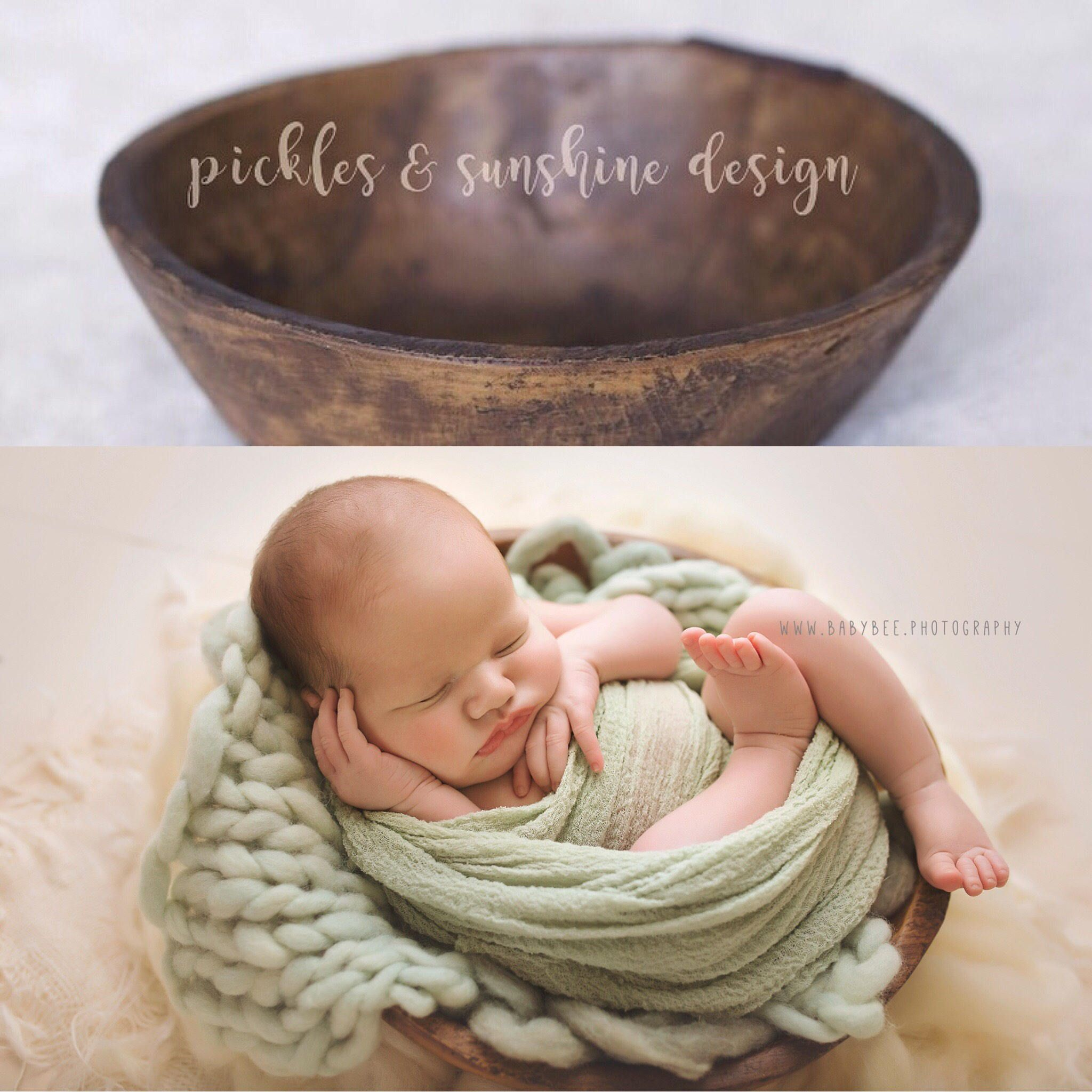 Newborn Posing Bowl Photography