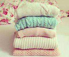 warm sweaters <3