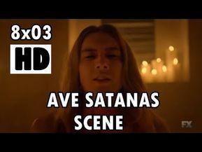 Michael Langdon Ave Satanas Scene - AHS Apocalypse - YouTube #ahsapocalypse