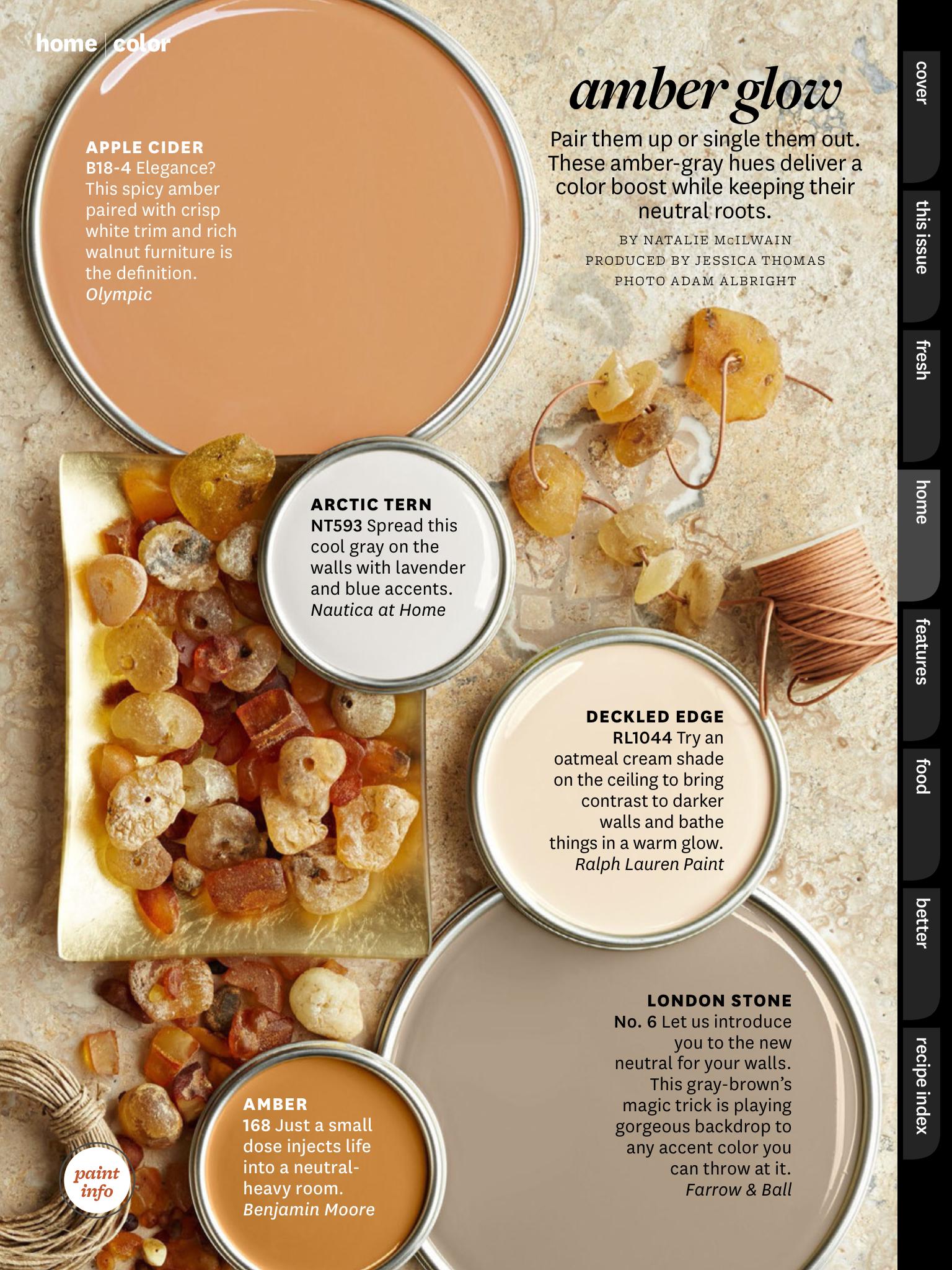 Better Home And Gardens Featured Paint Shades: | home ideas ...