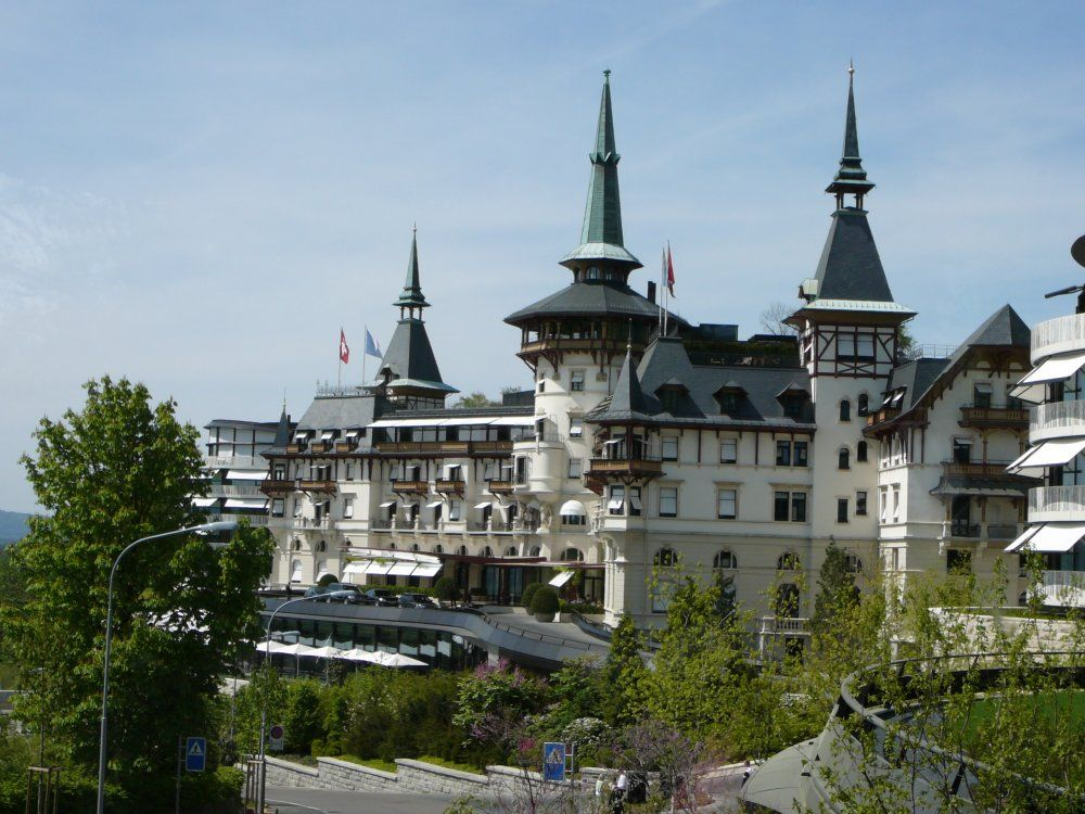 The Dolder Grand Hotel Zurich Switzerland Places I Have Traveled