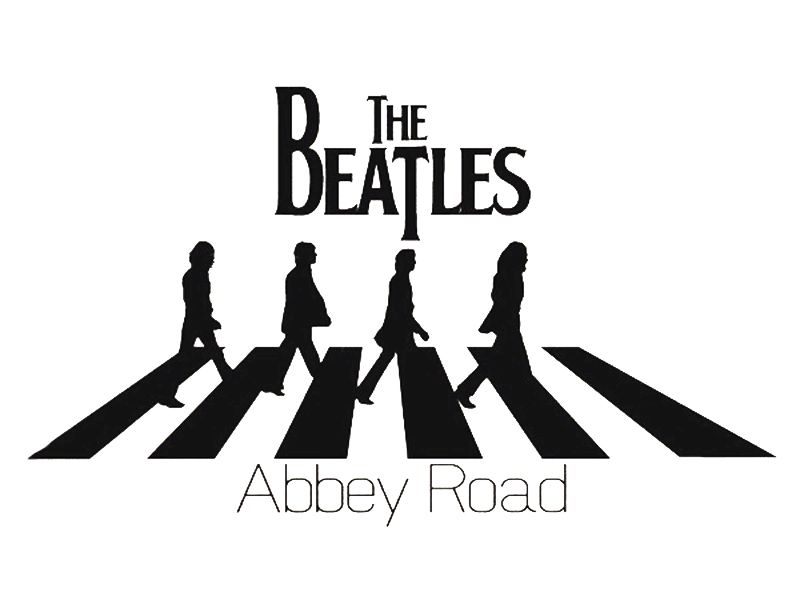 The beatles abbey road home decoration wall art decals for Abbey road mural