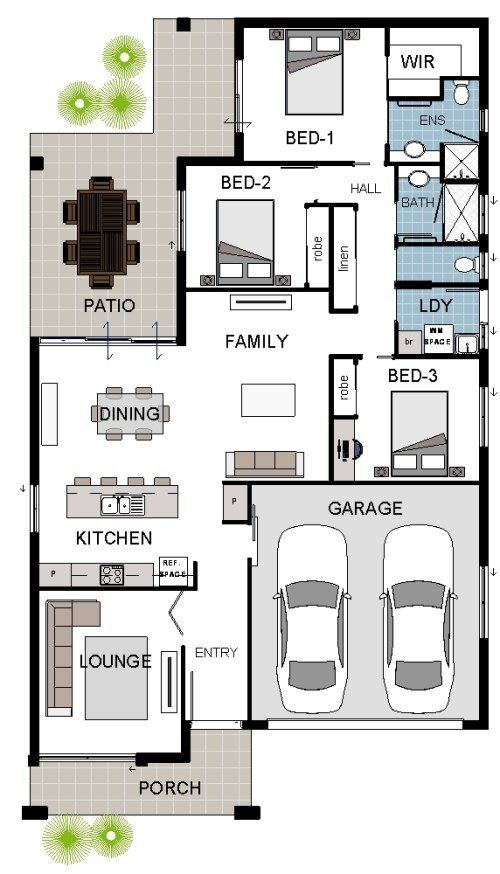 ALPHA 5A DISPLAY Coloured Floor Plan Ideas Pinterest Display - plan maison plain pied 80m2