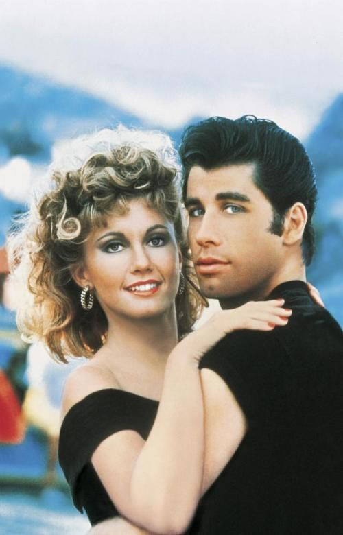 Danny Zuko And Sandy Olsen With Images Grease Movie John