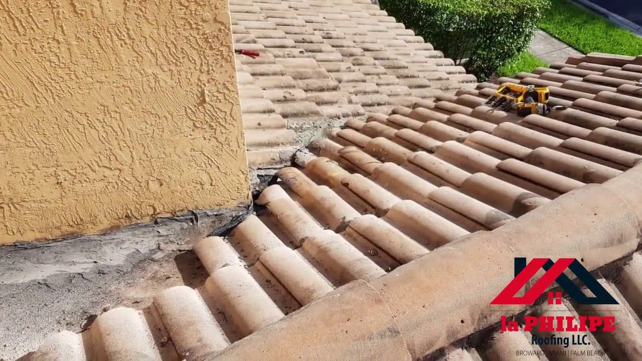 Clay Roof Tiles Repair Hollywood La Philipe Roofing Specializes In Roofing In The Hollywood And Broward County With Our In 2020 Clay Roof Tiles Clay Roofs Tile Repair