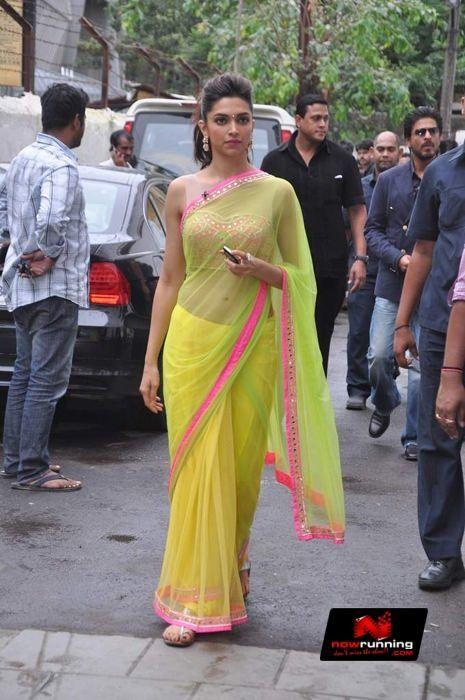 Deepika Snapped Promoting Chennai Express | NOWRUNNING ...