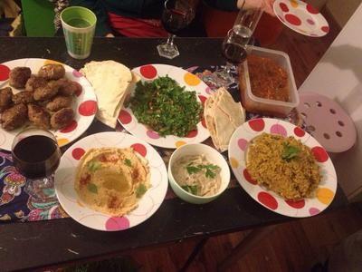 Rezept: Bemyeh mit Lamm - libanesischer Okra Eintopf