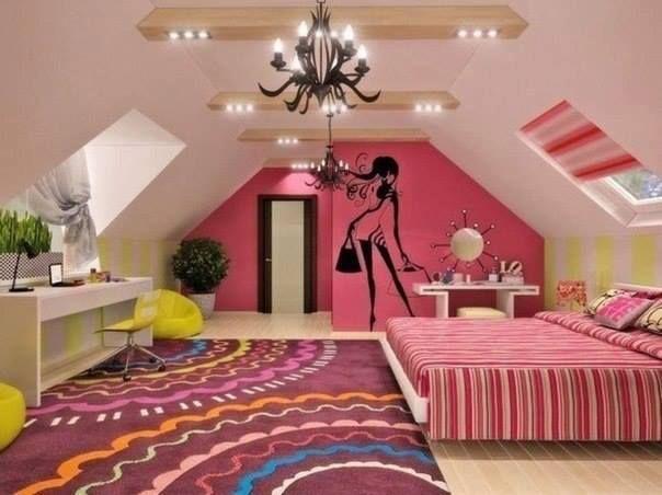 Decorar dormitorios juveniles para chicas dise o y - Decoracion de habitaciones juveniles ...
