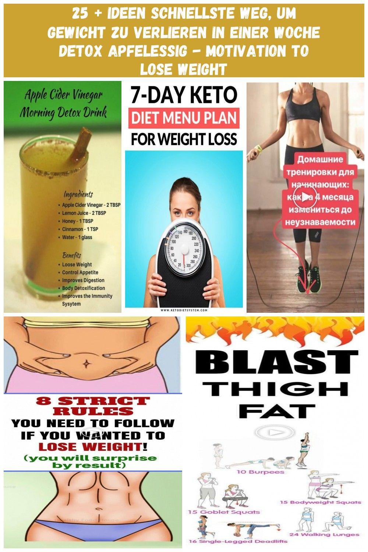 Der schnellste Weg, um Gewicht zu verlieren und