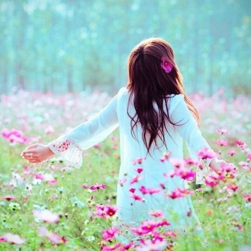 Cute Pictures Of Pretty Flower Girls Dp For Social Media Dp For Whatsapp Flowers Girls Dp