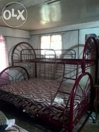 View Rush Selling Double Deck Brace With Free Queen Size Bed For