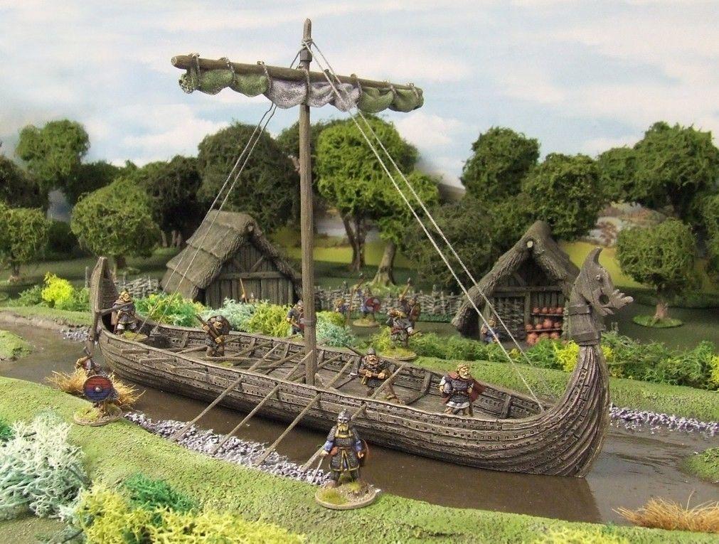 Viking Long Ship