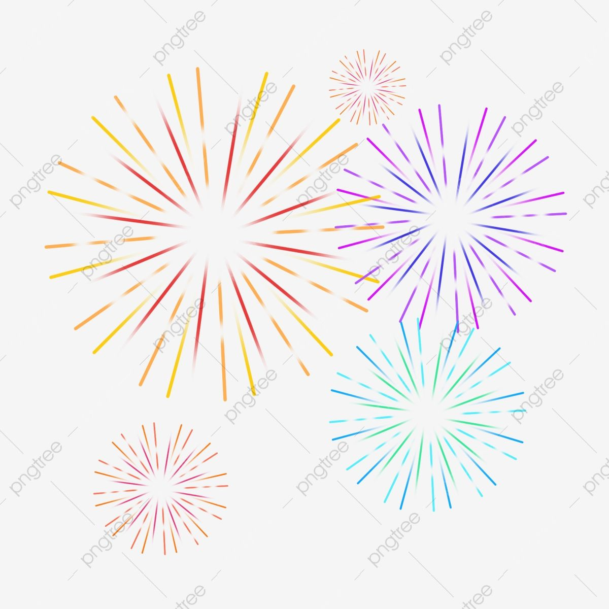 Fireworks Color Festive Cartoon Fireworks Fireworks Bloom Blooming Fireworks Png Transparent Clipart Image And Psd File For Free Download Firework Colors Cartoon Fireworks Fireworks
