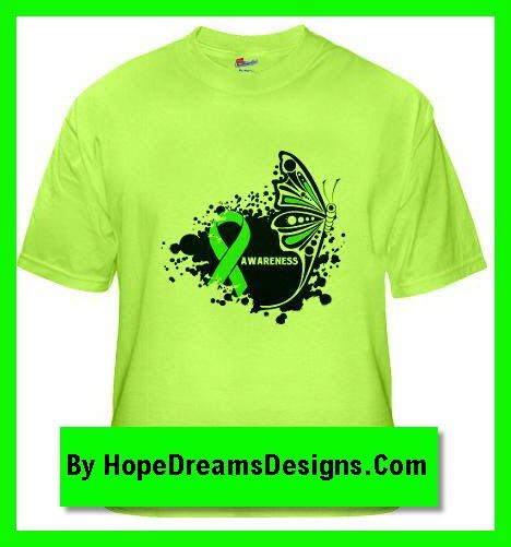 cd624374 Stunning Butterfly on Lymphoma AWARENESS shirts, apparel and gifts by  hopedreamsdesigns.com - check it out!
