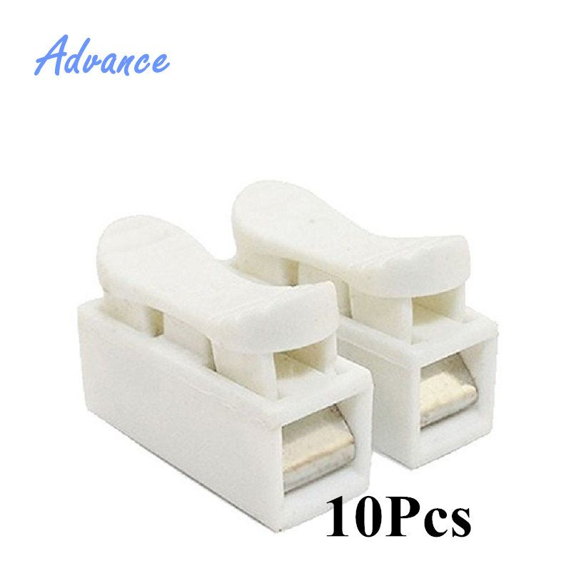 10Pcs 220V Connector Blocks Home Improvement Electrical