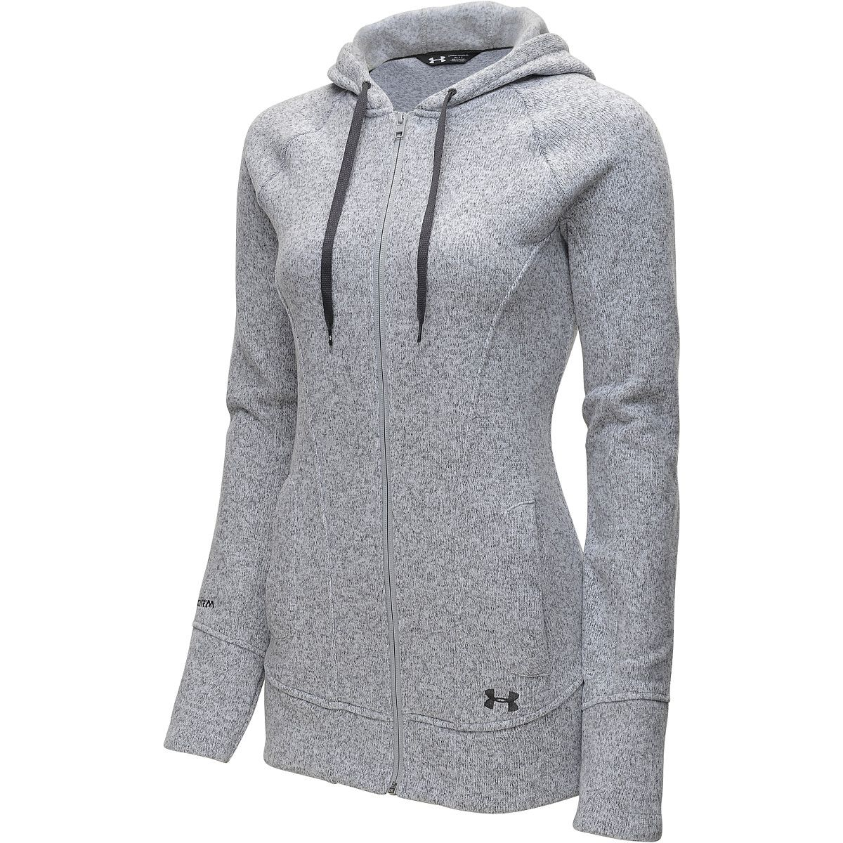 Crafted from sweaterknit fleece fabric the under armour womenus