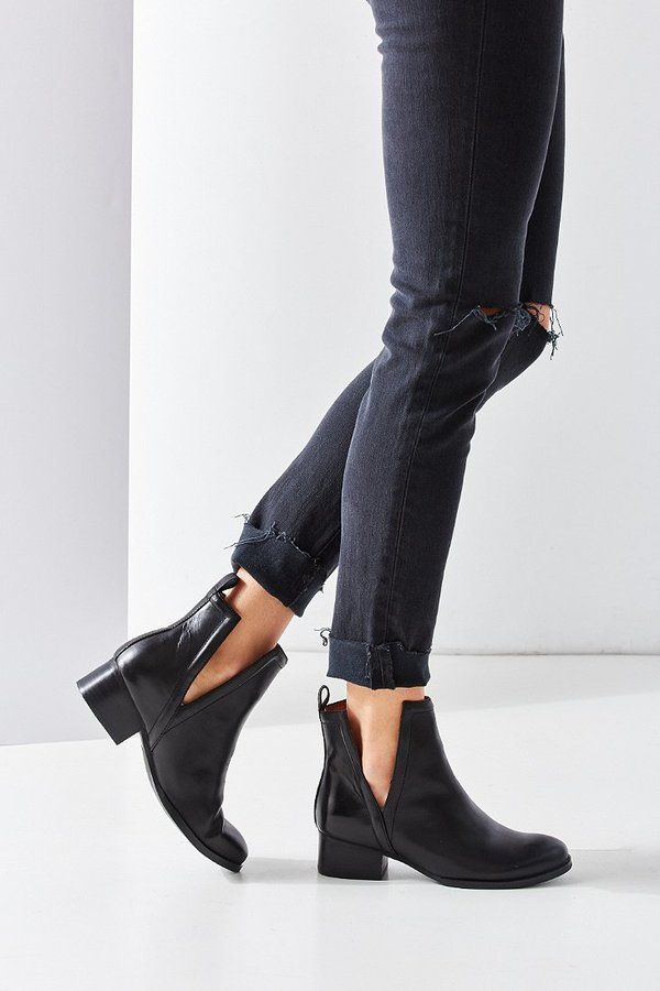 Jeffrey Campbell Oriley Cutout Ankle Boot | Boots & Boardwalks ...