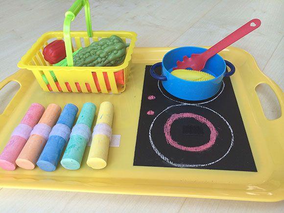 kook spelletjes voor peuters