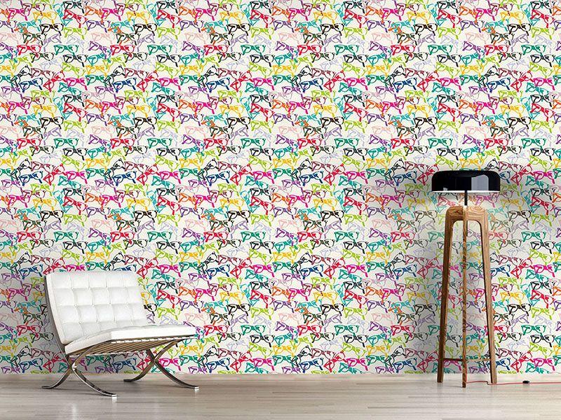 Design #Tapete Klarsicht Brille | Designtapeten Sommer | Pinterest
