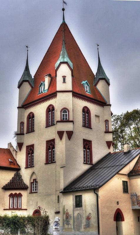Schloss Kaltenberg castle in  Upper Bavaria, Germany