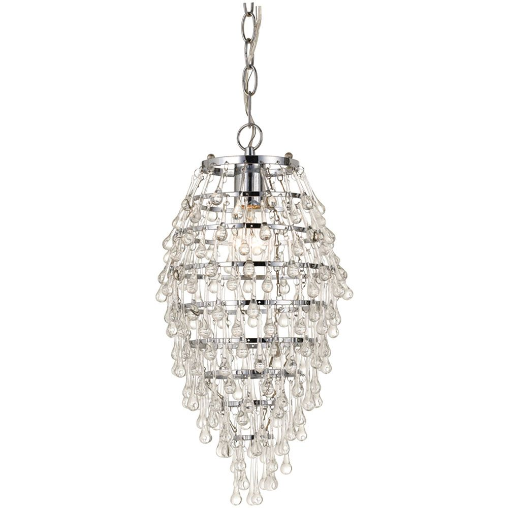 Crystal teardrop mini chandelier 8122 1h lighting pinterest crystal teardrop mini chandelier 8122 1h arubaitofo Image collections