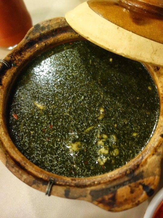 Mulukhiyah A Healthy Tasting Egyptian Broth From Pyramid Secret Egyptian Food In Kl Egyptian Food Arabic Food Food