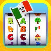 ABC Italian words for Kids