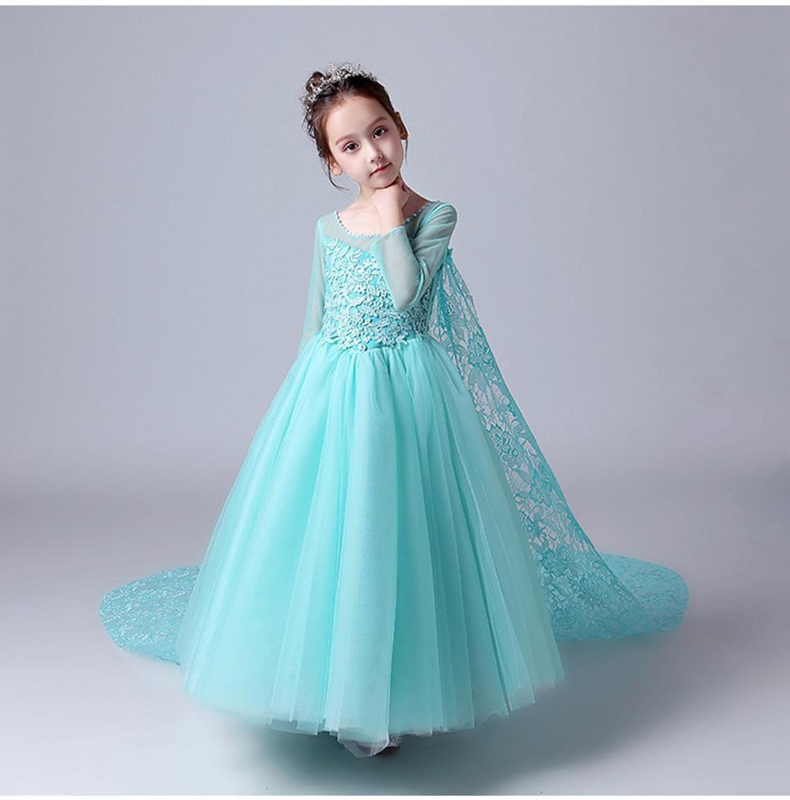 Elsa dress elsa costume toddler Disney princess Frozen
