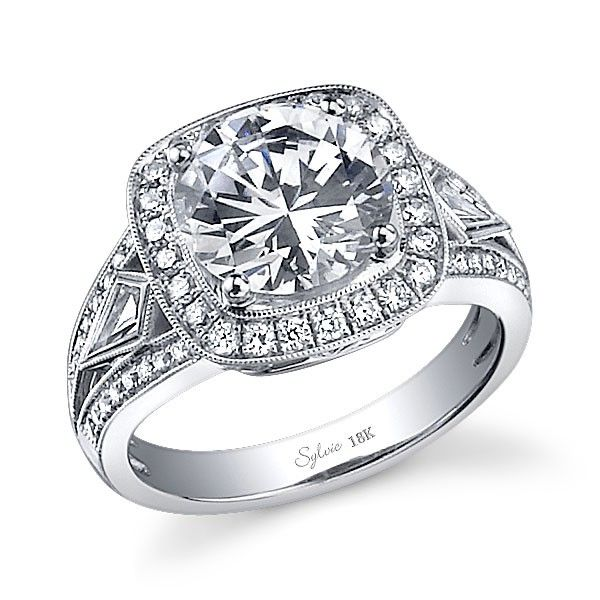 Sylvie Collection SY537,  $3920  Love,  Genesis Diamonds  www.genesisdiamonds.net  #sylviecollection #stunning #lovely