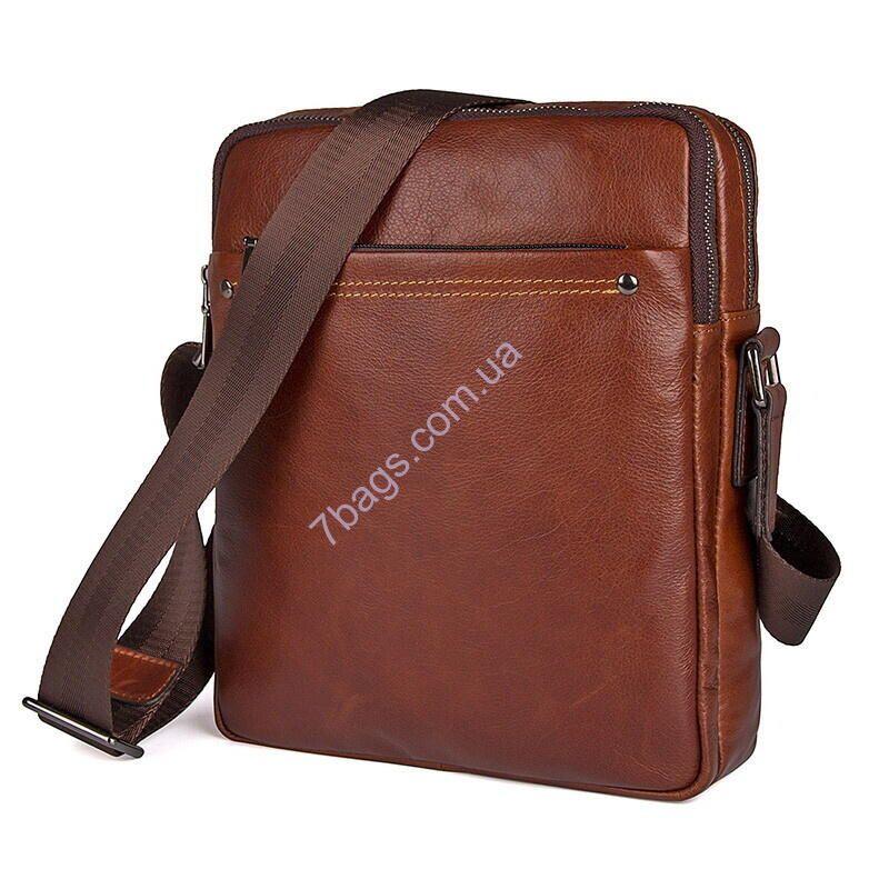 3fcd20d88090 Мужская кожаная сумка через плечо JD1043X, от бренда John McDee Сумка 1043х  от John McDee. Удобная, стильная, качественная сумка через плечо для мужчин.
