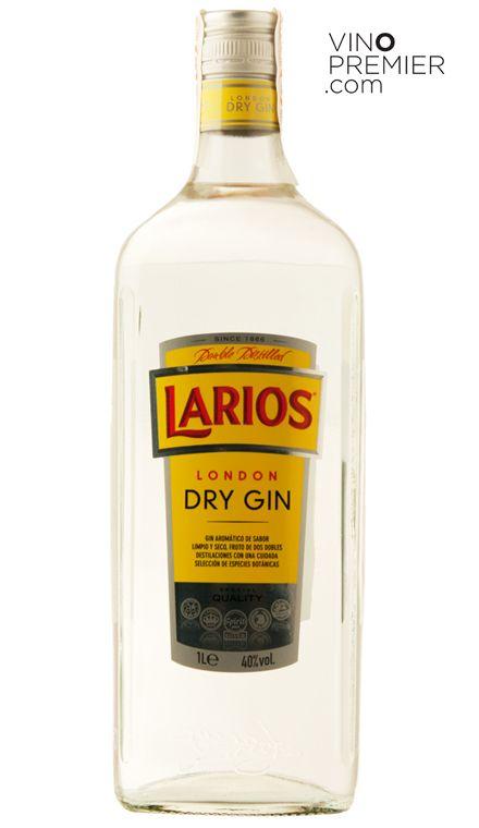 Ginebra Larios 1 Litro London Dry Gin Ginebras Premium Ginebras