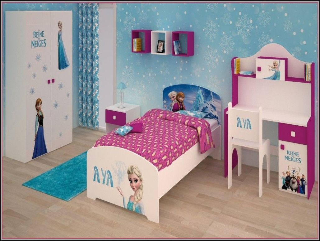 Idee Deco Reine Des Neiges Chambre Toddler Bed Bed Home Decor