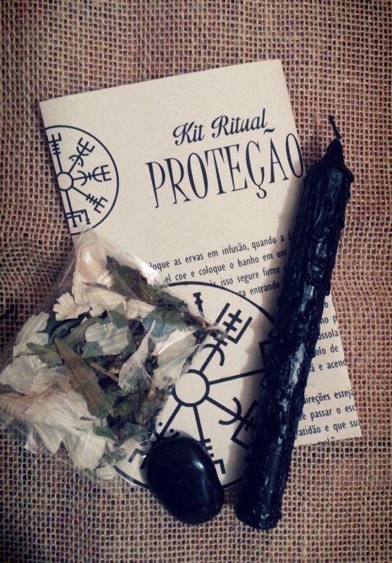 Kit Ritual Proteção - Empório Estelar