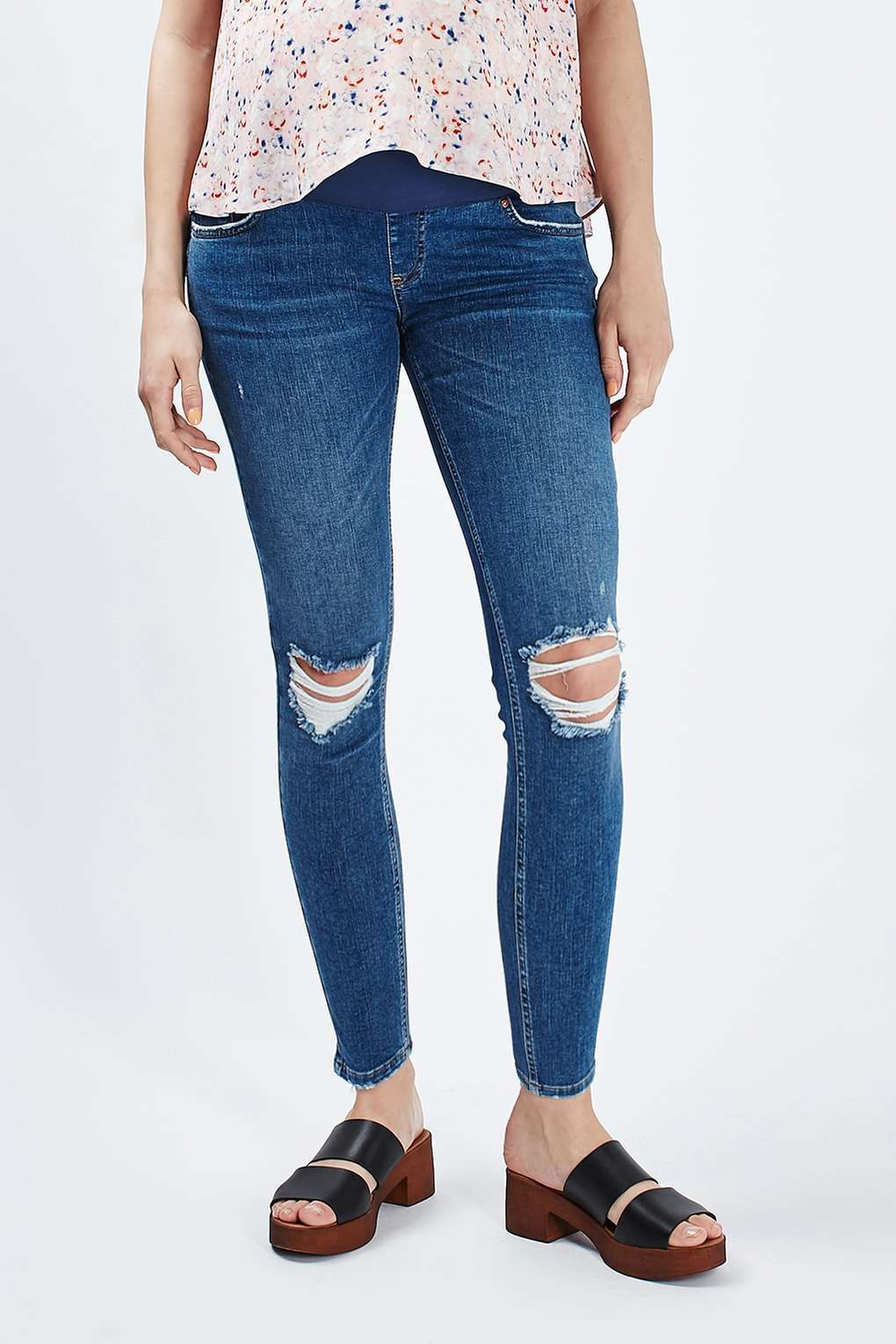 6f4de846849e9 MATERNITY Rip Jamie Jeans | Clothes, Shoes & Accessories | Maternity ...