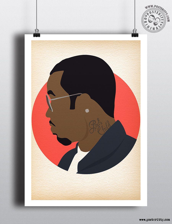 FREDDIE MERCURY Vest Music Minimalist Poster Posteritty Minimal Wall Art Print